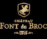 Chateau Font du Broc Mobile Logo